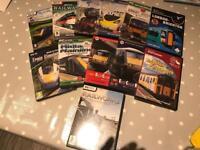 Train simulator software bundle - 12 titles