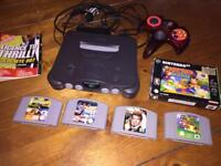 Nintendo 64 N64 with Games.