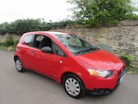 MITSUBISHI COLT 1.1 CZ1 2009 3 DOOR ONLY 41K MILES FULL HISTORY LONG MOT