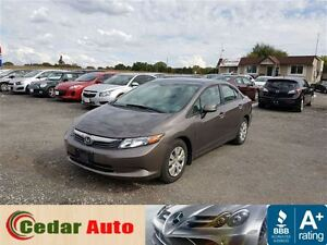 2012 Honda Civic LX - Managers Special London Ontario image 1