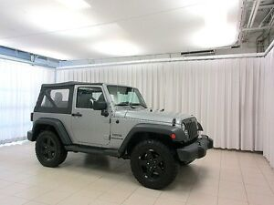 2015 Jeep Wrangler SPORT 4X4 REMOVABLE SOFT TOP SUV 4PASS
