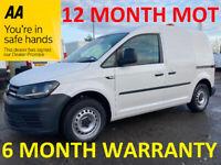 Volkswagen, CADDY, Panel Van, 2016, Manual, 1598 (cc)***12 MONTH MOT***