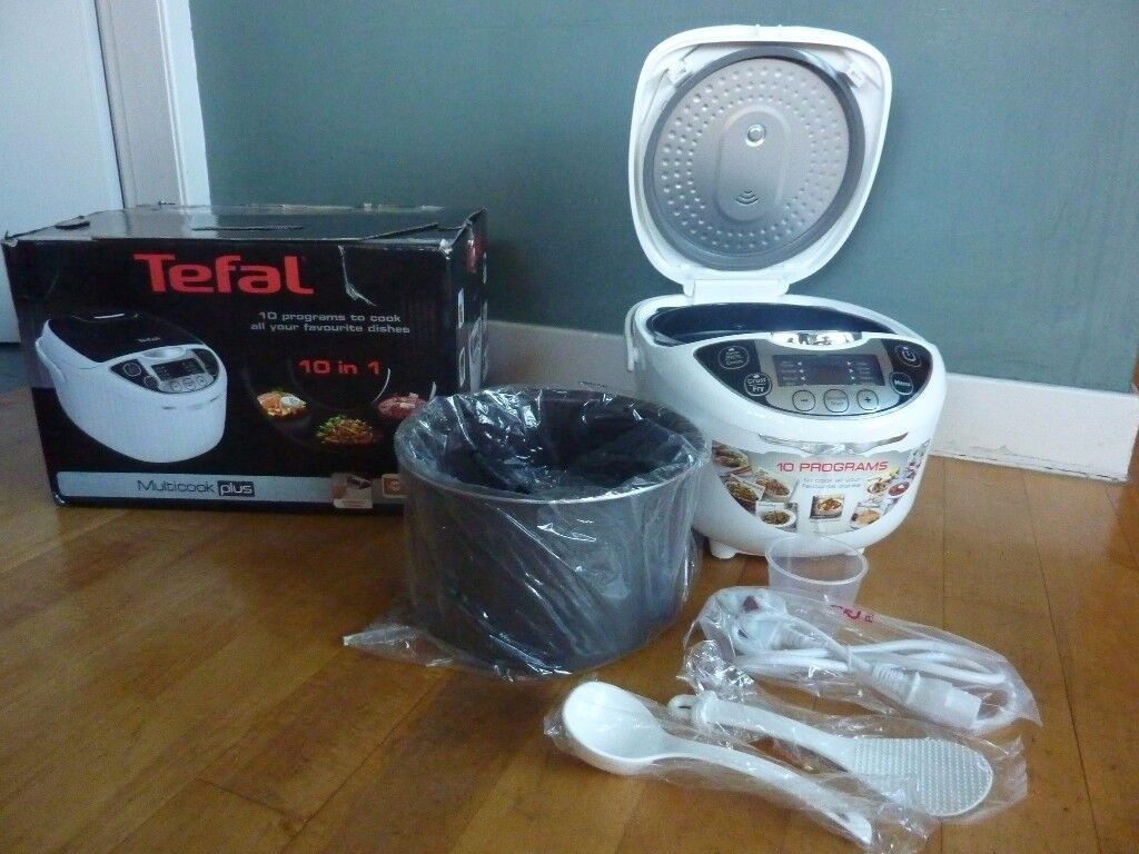 Brand New Boxed Tefal 10-in-1 Multi Cook Plus Cooker