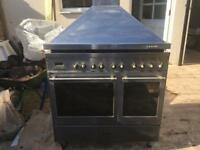 Capel Range Duel Fuel cooker. Stainless Steel.