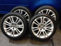 2010 Vauxhall insignia alloy wheels with tyres ,245/45R18
