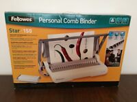 Fellows Personal Comb Binder