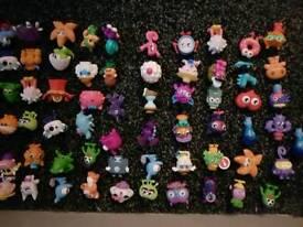 Job lot of 132 Moshi monsters
