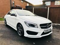 2013 MERCEDES CLA 220 CDI AMG SPORTLINE *12 MONTH MOT* SERVICE HISTORY* WHITE