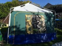 Jovi Canvas Tent/Gazebo/Drive Away Awning