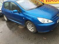 Peugeot 307 diesel very cheap £470ono