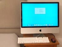 "IMAC 24"" MID 2007,500GB STORAGE,4GB RAM,2.4GHZ INTEL CORE 2 DUO,GENUINE APPLE KEYBOARD,CAN DELIVER"