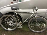 Chrome fixie brought in from USA flip flop wheeks
