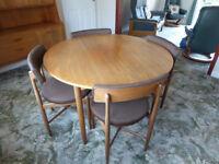 Teak G Plan Table & Chairs