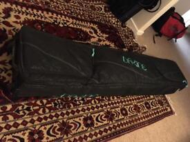 Burton wheelie snowboard bag case (156cm)