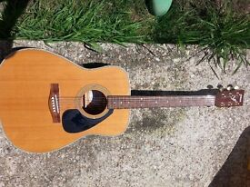 NOW SOLD Yahamar F380 acoustic Guitar