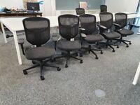 20 Black Office Comfort Project Enjoy ergonomic full adjustable chair