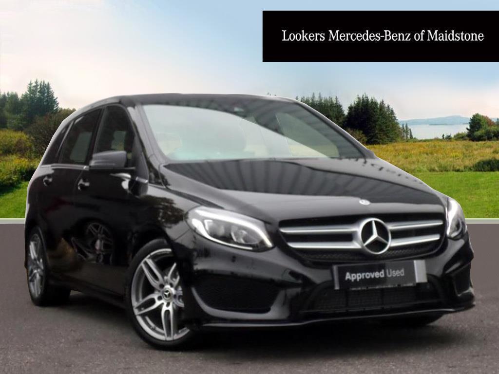 mercedes benz b class b 200 d amg line premium black 2017 10 31 in maidstone kent gumtree. Black Bedroom Furniture Sets. Home Design Ideas