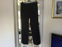 Two pairs trousers, jaeger designer size 14, linen XL vgc £8- collected Narborough, Leics