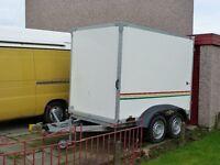 humbaur box van trailer excellent condition towavan trailer