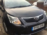 Toyota Avensis Saloon 2010 PCO REGISTERED (Excellent car)