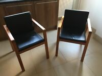 2 x Heals dining/occasional chairs