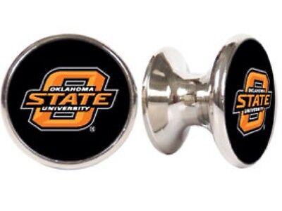 OKLAHOMA STATE COWBOYS NCAA DRAWER PULLS /CABINET (Oklahoma Drawer Pulls)
