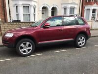 Perfect condition Touareg for sale with full service history and few months of MOT