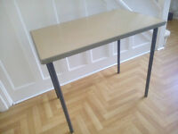 HEAVY DUTY OFFICE DESK TABLE SEWING METAL LEGS LEICESTER