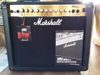 Marshall MG30 DFX Digital FX Effects Guitar Amplifier