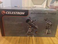 Celestron 31042 Astromaster 114EQ Reflector Telescope