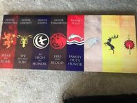 Game of thrones canvas