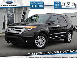 2013 Ford Explorer **XLT*7 PASSAGERS*CUIR *TOIT*NAVI*CAMERA**
