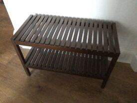Ikea molger bathroom bench