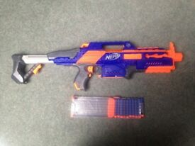 NERF GUN RAPIDSTRIKE - CS-18 with Bullets