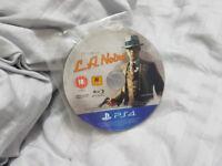 PS4 L.A. LA Noire