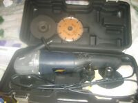 used car polisher/angle grinder/sander