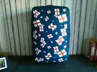 Suitcase....covered with English flags
