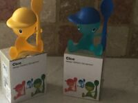 2 Alessi egg cups.