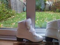 Jackson Figure Ice Skates - White UK 7