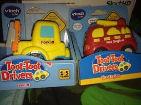 Toot toot drivers cars forklift & fire engine