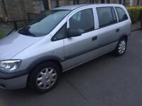 Vauxhall zafira 1.6 petrol for sale