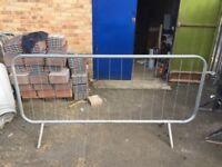 Metal fencing / barrier