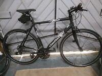 Claud Butler Levante flat bar Road bike