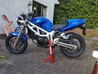 Suzuki sv650 2000