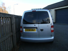 Volkswagon Caddy 69PS SDI Van, Silver, Colour Coded Bumpers, Ply lined