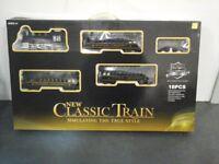 New clasic train set 18 piece - plastic