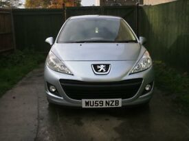 2009 Peugeot 207 HDi 1.4 2 door hatchback