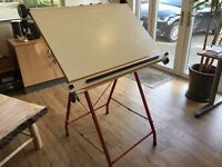 A1 Drawing Board - Freestanding, adjustable & collapsible