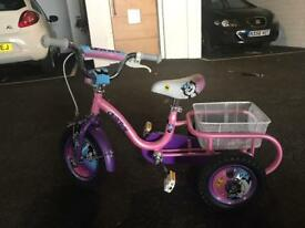 Tricycle bike bicycle excellent condition 12""