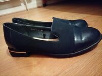 Ladies Loafers Brogues Pumps Casual School Office Comfy Work Flats Size 3
